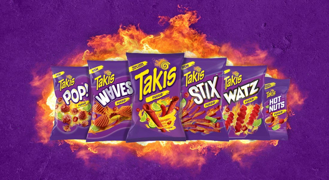 Takis Disrupt the Salty Snack Category by Introducing Five New Products