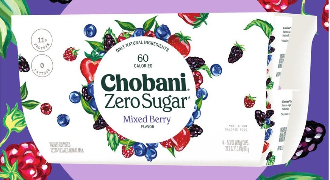 Chobani Zero Sugar Disrupts the Yogurt Market