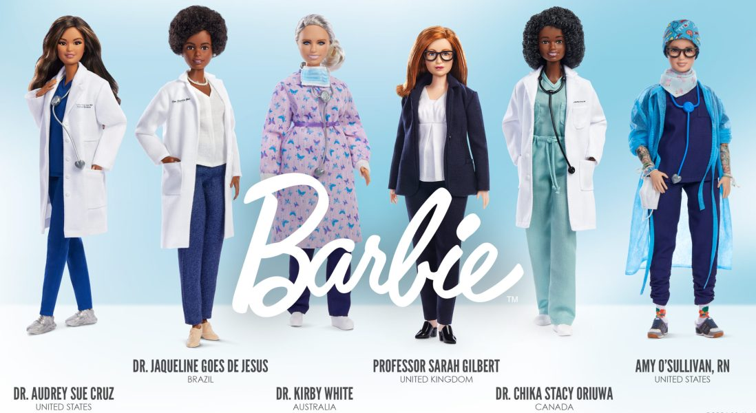 Mattel Introduces 6 Women in Science Barbie Dolls to Inspire Next Generation Girls