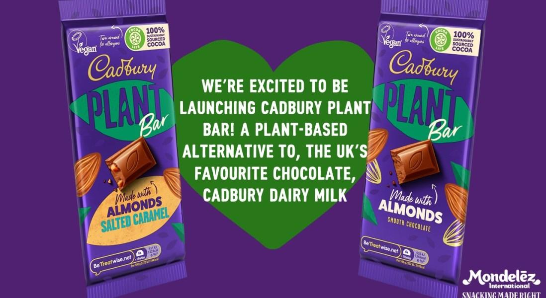 Cadbury Recreates its Famous Dairy Milk Chocolate Bar and Makes It Vegan