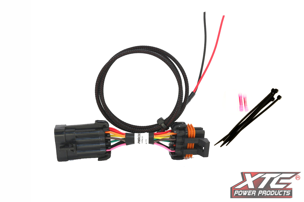 Polaris Plug Amp Play Ride Command Power Out For License