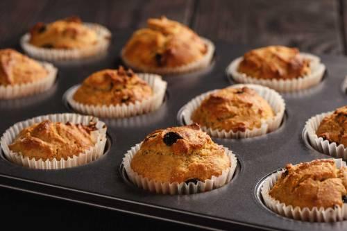 Protein Packed Gluten Free Muffins