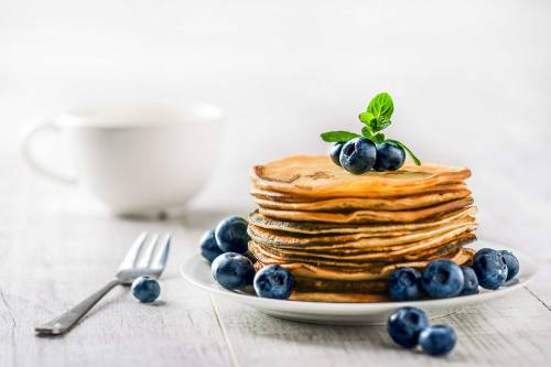 Digestion Friendly 3 Ingredient Pancakes