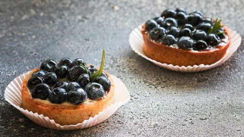 Gluten-Free Mini Berry Tarts