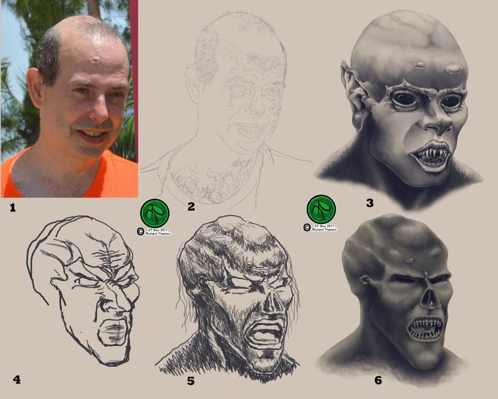 Fantasy Self Portrait Progression Study 07242017.jpg