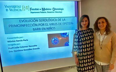 El Departament de Salut Xàtiva-Ontinyent destaca la tesi doctoral de Mónica García Peris