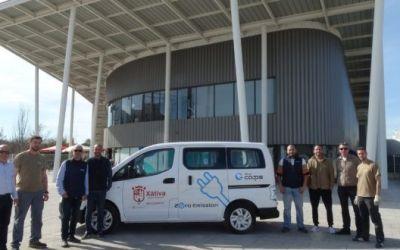 Xàtiva adquireix una furgoneta elèctrica per a la regidoria d'Esports