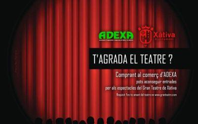 Xàtiva llança una campanya per incentivar l'assistència als espectacles teatrals