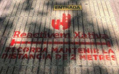 Disposicions de l'Ajuntament de Xàtiva per a la FASE 1 del desconfinament