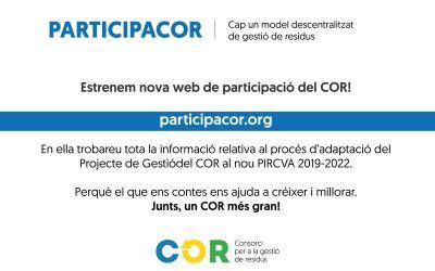 El COR inicia un nou porcés participatiu en línia per a definir el nou model de gestió