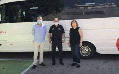 Xàtiva presenta el nou bus urbà