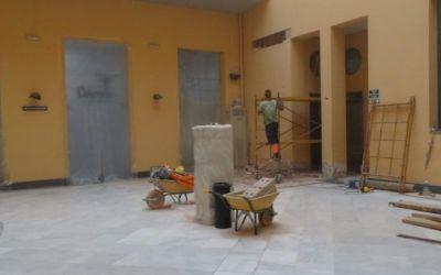S'inicien les obres de millora de l'accessibilitat a la Casa de Cultura de Xàtiva