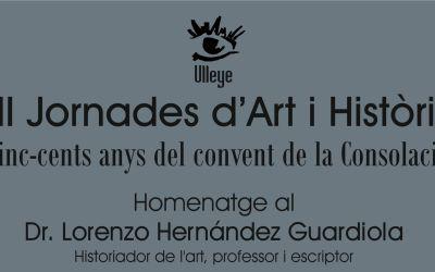 Ulleye convoca les XII Jornades d'Art i Història Xàtiva