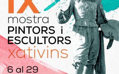 La Casa de Cultura alberga la IX Mostra de pintors i escultors xativins