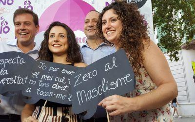 """La campanya """"No és no"""" de Xàtiva arrancarà el 14 d'agost a les xarxes socials"""