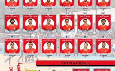 El CV Xàtiva presenta la seua plantilla masculina per a competir en SuperLliga2