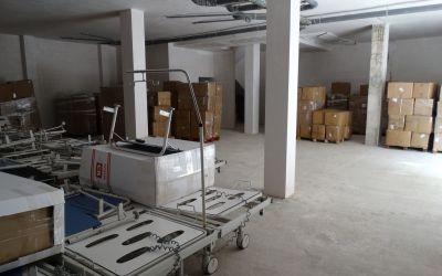 Un local comercial de Xàtiva es convertirà en magatzem complementari de material sanitari per al departament de Salut