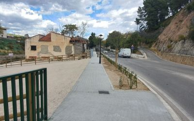 Moixent signa l'Acta de Finalització de l'obra a l'Avinguda de les Alcusses