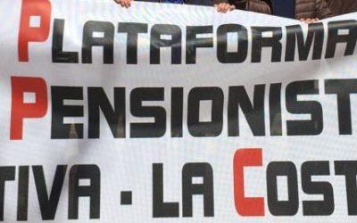 La Plataforma en Defensa de les Pensions es reuneix amb la regidora de Benestar Social de Xàtiva