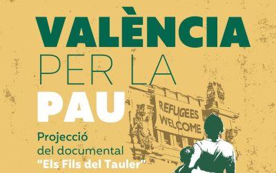 """Canals acull el projecte """"València per la Pau"""" del Fons Valencià per la Solidaritat"""