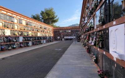 Xàtiva prepara el dispositiu de Tots Sants i tallarà al tràfic el vial d'accés al cementeri el proper dilluns 26