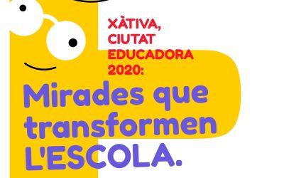 Xàtiva organitza una sèrie de jornades formatives al voltant de «Ciutat Educadora»
