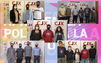 El Consell de la Joventut de Xàtiva es reuneix amb les formacions polítiques de la ciutat