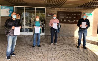 La Plataforma de Pensionistes Xàtiva-La Costera envia un manifest-petició a Margarita Llaudes i a Ana Barceló