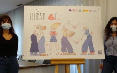 Xàtiva presenta la campanya «Estima'm bé» de prevenció de la violència de gènere destinada als i les adolescents
