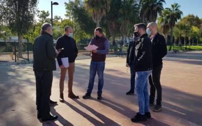 Canals fa el primer pas en la instal·lació de les aules prefabricades del futur IES Francesc Gil