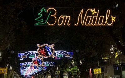 La plaça del Mercat de Xàtiva s'il·luminarà per primera vegada durant les festes de Nadal