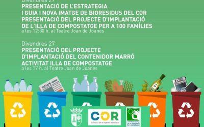 La Font de la Figuera implantarà el contenidor marró per a 100 famílies i posarà en marxa l'illa de compostatge comunitari
