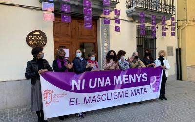 Xàtiva commemora el Dia Internacional de l'Eliminació de la Violència contra la Dona