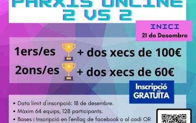La regidoria de Joventut de l'Alcúdia de Crespins programa un segon torneig de parxís en línia