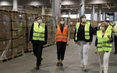 93 empreses garantiran el subministrament de material sanitari a la Generalitat
