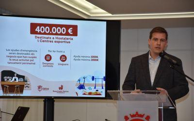 Les ajudes per als negocis de Xàtiva afectats per la pandèmia superaran els 1,2 milions d'euros