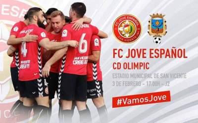 El CD Olímpic afronta aquesta vesprada el partit ajornat contra el Jove Español