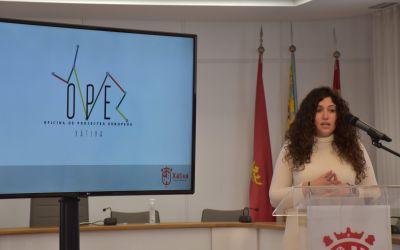 L'Ajuntament de Xàtiva presenta la nova Oficina de Projectes Europeus que facilitarà la participació local en els Fons Europeus