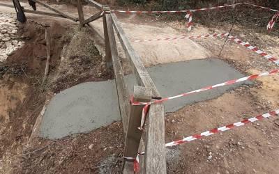 L'Ajuntament de Xàtiva finalitza la reparació d'un dels trams del camí de Sant Antoni afectat per la DANA de l'any passat
