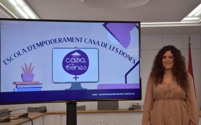 Xàtiva presenta la nova Escola d'Empoderament de la Casa de les Dones