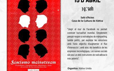 Xàtiva Unida reprén la seua programació cultural amb la presentació de tres llibres al llarg d'aquesta primavera
