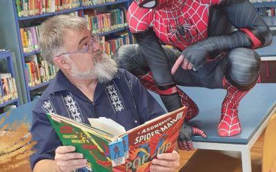 """La Biblioteca Municipal de Xàtiva recupera les activitats d'animació lectora de forma presencial amb l'espectacle """"Súper"""""""