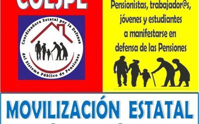 La Plataforma en Defensa de les Pensions Públiques de Xàtiva – La Costera prepara noves accions