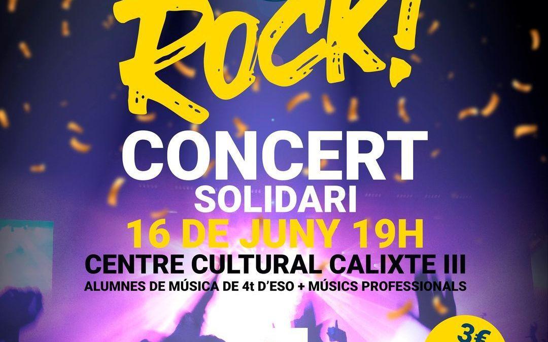 El col·legi Cervantes de Canals organitza un concert solidari