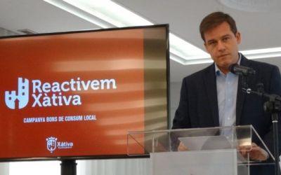 L'Ajuntament de Xàtiva i el veïnat injecten més d'un milió d'euros en els establiments de la ciutat a través dels bons de consum