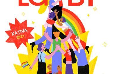 Desi Pérez guanya el Concurs de Cartells Orgull LGTBI Xàtiva 2021