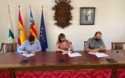L'Ajuntament de Canals signa un nou conveni de col·laboració amb ASSOCIEM