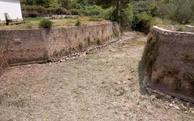 L'Alcúdia de Crespins finalitza la neteja i desbrossament del naixement del riu Sants