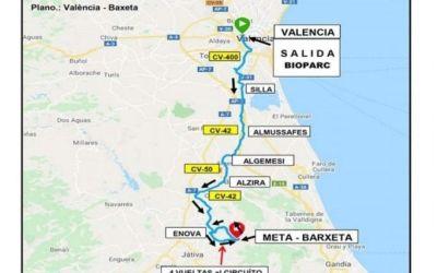 La Volta a la Província de València aplega hui a la Costera