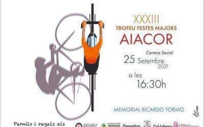 Aiacor acull el XXXIII Memorial Ricardo Tormo de Ciclisme – Trofeu Festes Majors